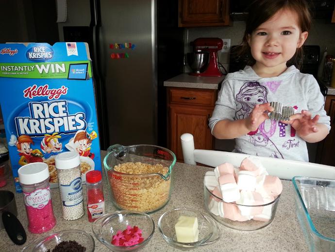 Minnie Rice Krispie Treat