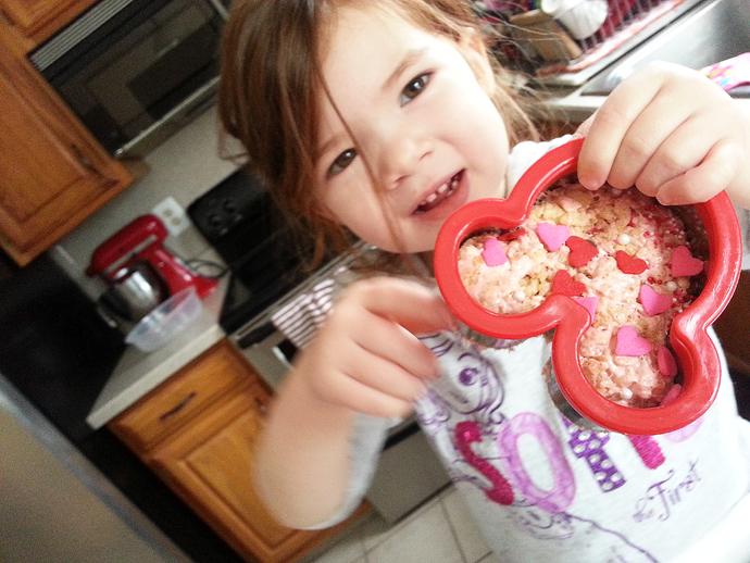 Minnie Rice Krispies Treat